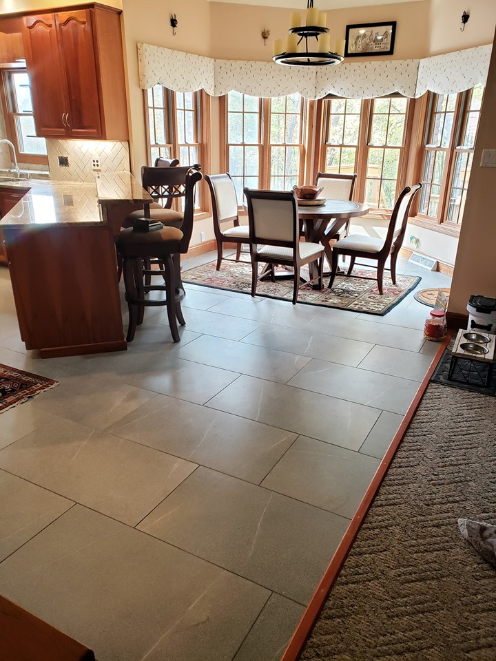 tile floor remodel tile contractor home renovation